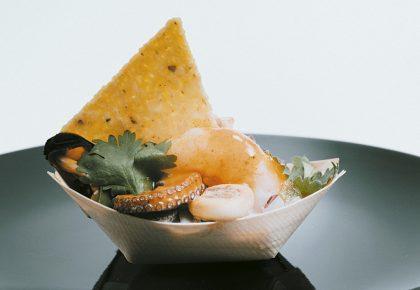 Achuri Restaurante - Salpicón de marisco caribeño
