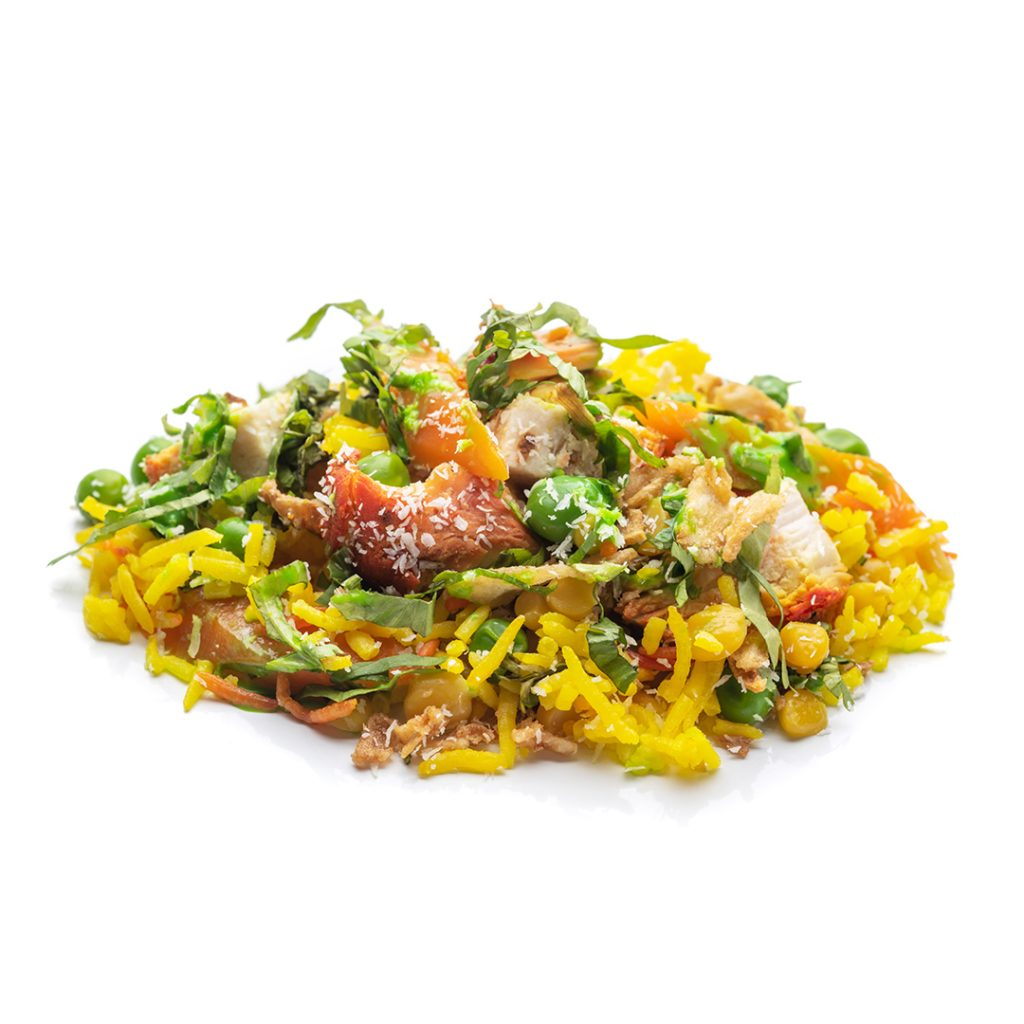 Kosambri con Pollo Shapla Indian Restaurant EnLavapiés