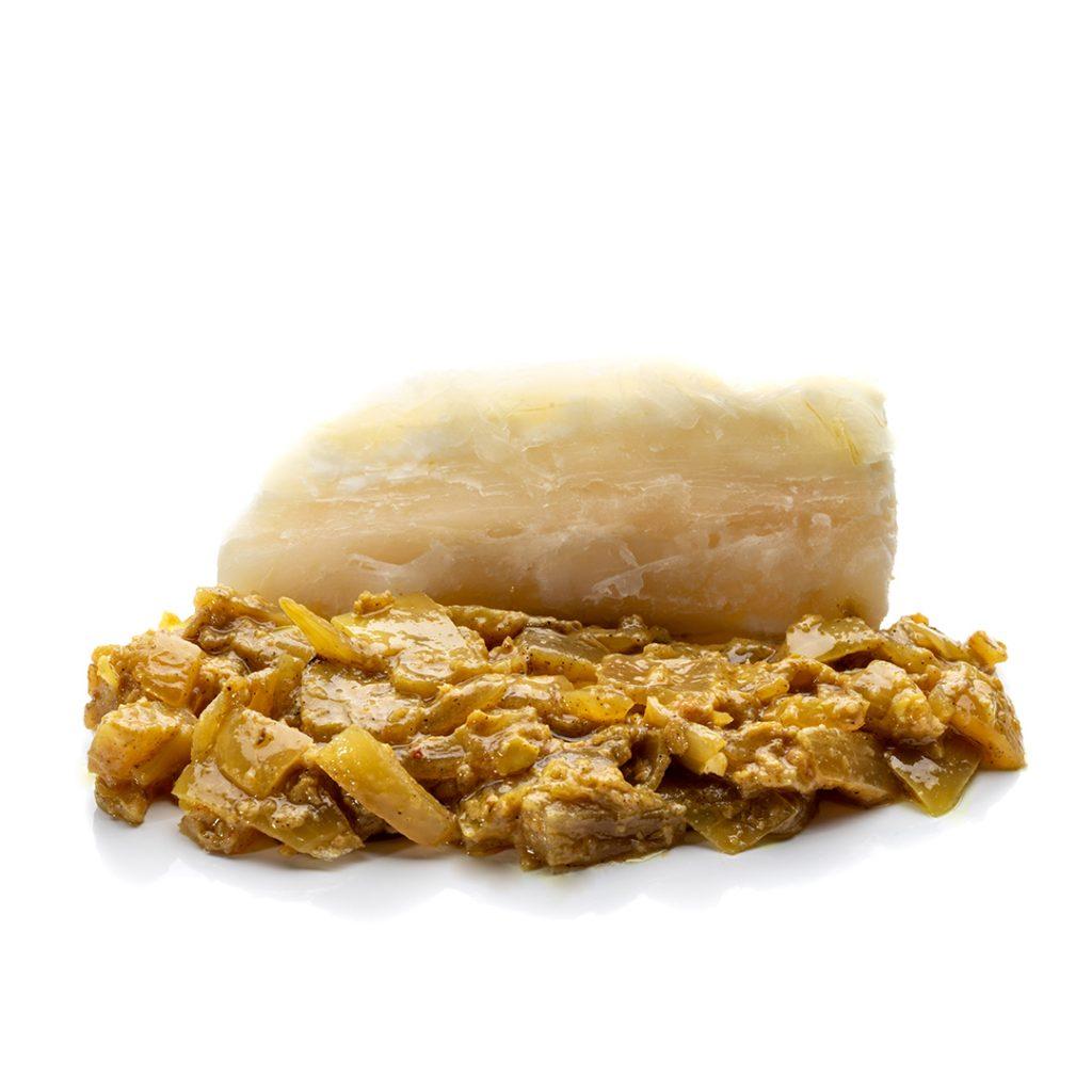 Yuca con cebolla caramelizada y lima Ven ven ven EnLavapiés