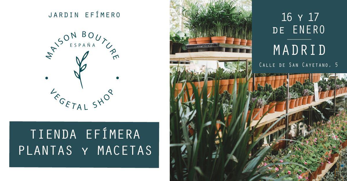 Jardín Efímero de Maison Bouture