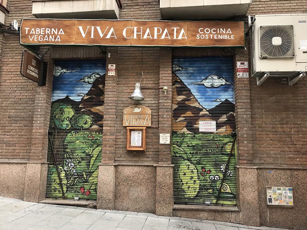 Viva Chapata | Fachada