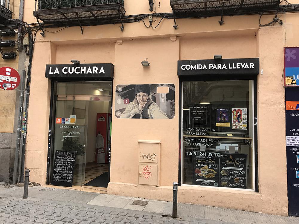 La Cuchara | Fachada