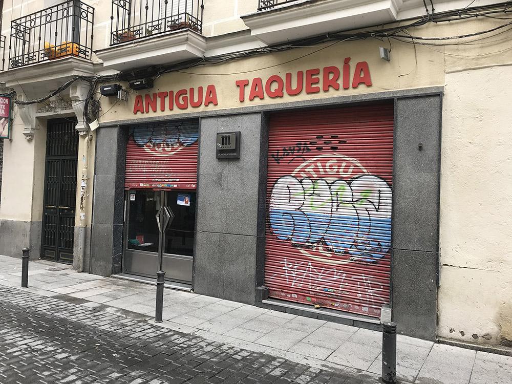 Antigua Taquería | Fachada