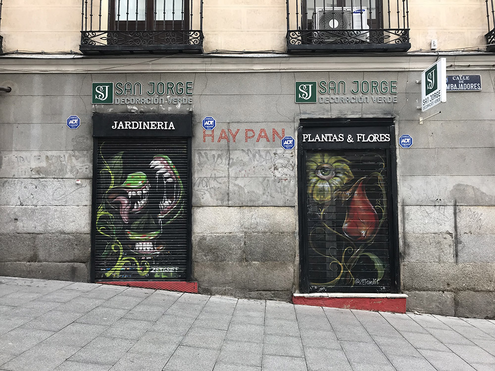 San Jorge Decoración Verde | Fachada