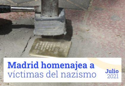 Homenaje Madrid víctimas Enlavapiés